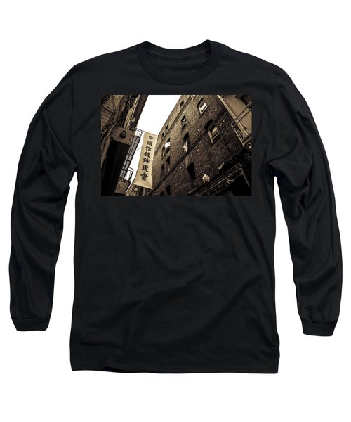 Chinatown Alley Long Sleeve T-Shirt