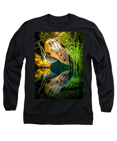 Chipmunk Reflection Long Sleeve T-Shirt