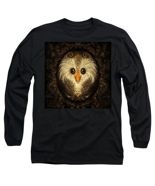 Chocolate Nested Easter Owl Long Sleeve T-Shirt