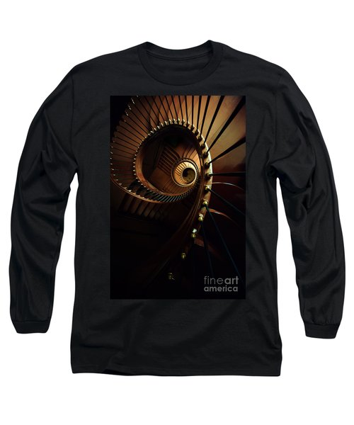 Chocolate Spirals Long Sleeve T-Shirt