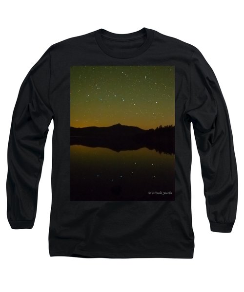 Chocorua Stars Long Sleeve T-Shirt