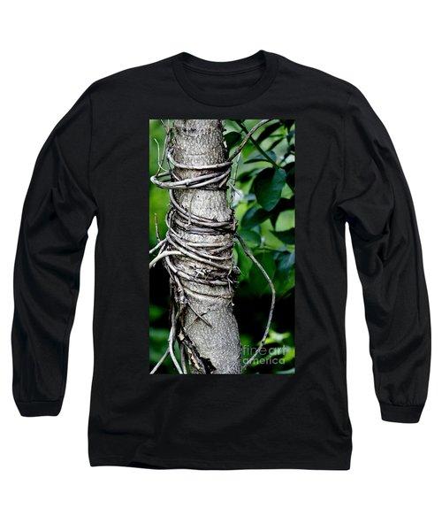 Long Sleeve T-Shirt featuring the photograph Choke by Lilliana Mendez