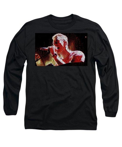 Chris Martin - Montage Long Sleeve T-Shirt