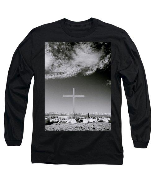 Christian Grave Long Sleeve T-Shirt by Shaun Higson