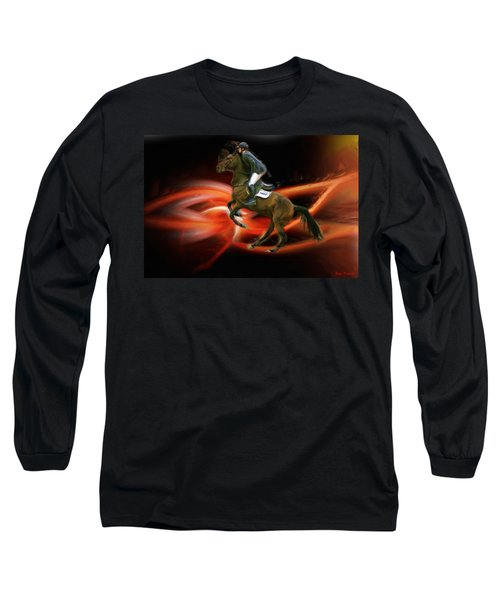 Christian Heineking On Horse Nkr Selena Long Sleeve T-Shirt