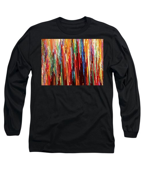 A Rainbow Melting  Long Sleeve T-Shirt