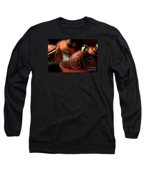 Christmas Bauble Cupcakes Long Sleeve T-Shirt