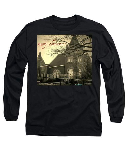 Christmas Chapel Long Sleeve T-Shirt by Chris Berry