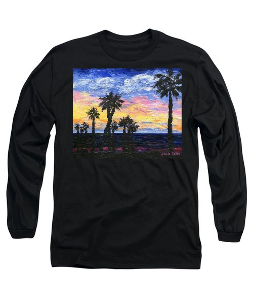 Christmas Eve In Redondo Beach Long Sleeve T-Shirt by Jamie Frier