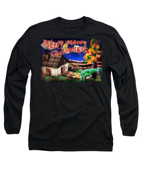 Christmas Greeting Card Iv Long Sleeve T-Shirt
