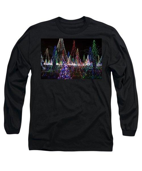 Christmas Lights 3 Long Sleeve T-Shirt