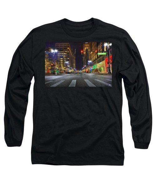 Christmas On Woodward Long Sleeve T-Shirt