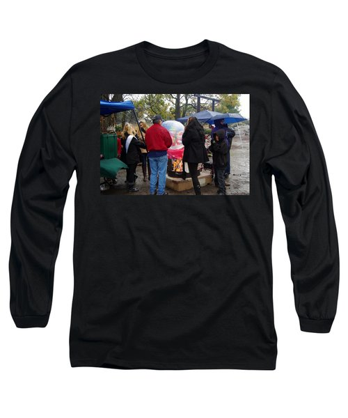 Christmas People Cold And Muddy Long Sleeve T-Shirt
