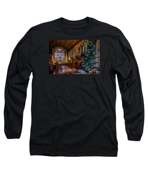 Christmas Time Long Sleeve T-Shirt by Adrian Evans