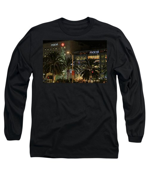 Christmas Tree At Union Square Long Sleeve T-Shirt
