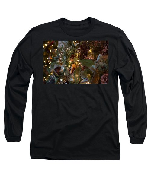 Long Sleeve T-Shirt featuring the photograph Christmas Tree Splendor by Patricia Babbitt