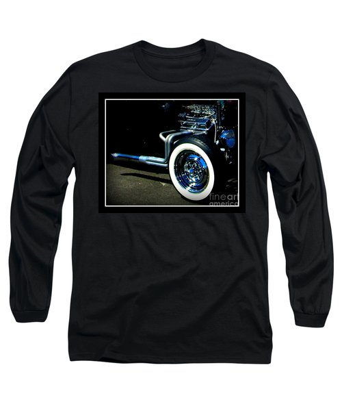 Long Sleeve T-Shirt featuring the photograph Chrome  by Bobbee Rickard