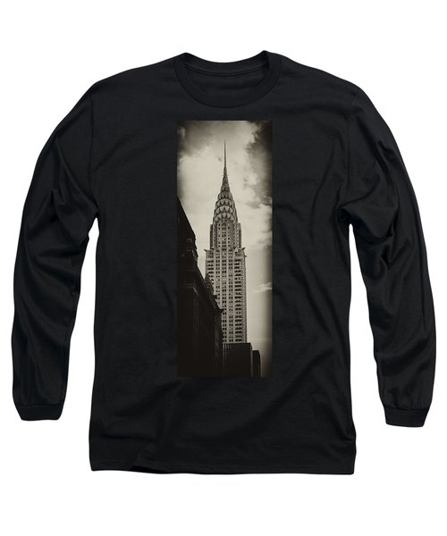 Chrysler Long Sleeve T-Shirt by Andrew Paranavitana