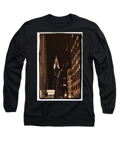 Chrysler Building Long Sleeve T-Shirt