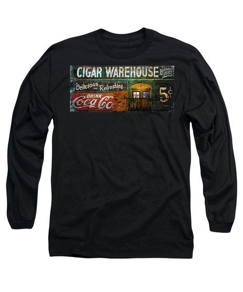 Cigar Warehouse Long Sleeve T-Shirt