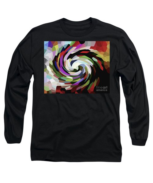 Circled Car Long Sleeve T-Shirt