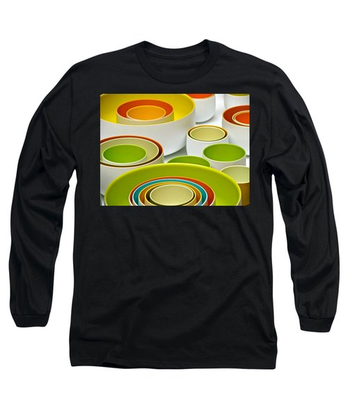 Long Sleeve T-Shirt featuring the photograph Circles Squared by Ira Shander