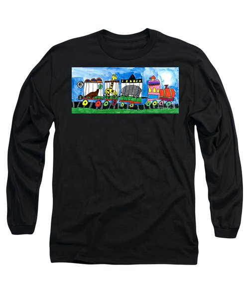 Circus Train Long Sleeve T-Shirt