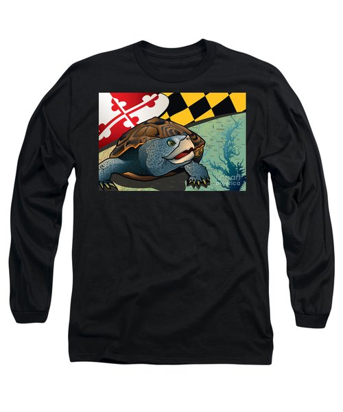 Citizen Terrapin Maryland's Turtle Long Sleeve T-Shirt