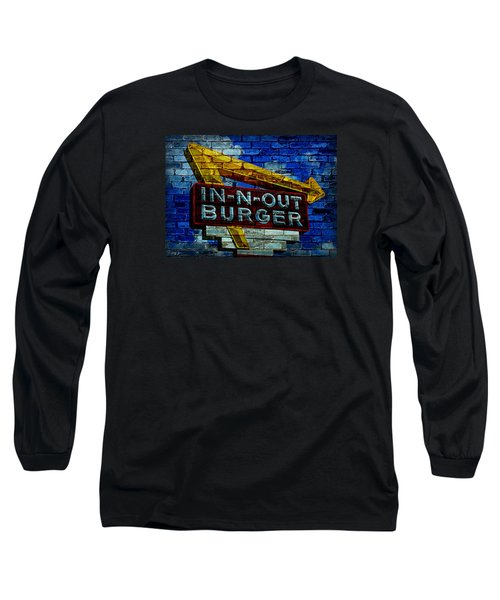 Classic Cali Burger 2.4 Long Sleeve T-Shirt by Stephen Stookey