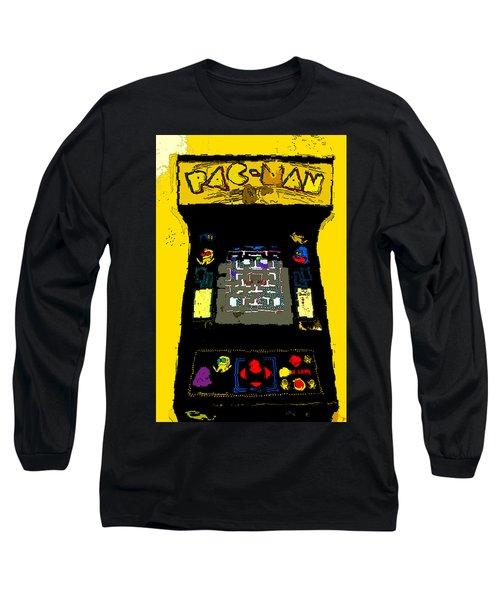 Classic Pacman Long Sleeve T-Shirt