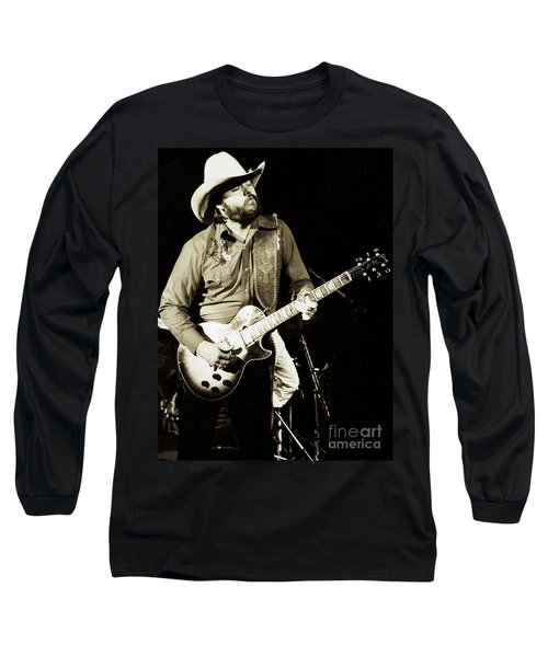 Classic Toy Caldwell Of The Marshall Tucker Band At The Cow Palace-new Years Concert  Long Sleeve T-Shirt