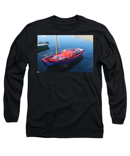 Long Sleeve T-Shirt featuring the photograph Clear Waters by George Katechis