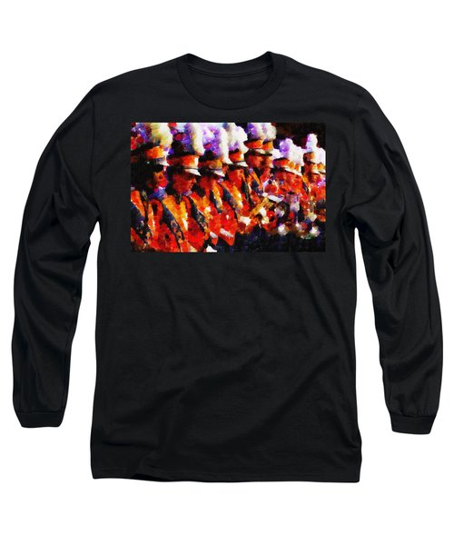 Clemson Tiger Band - Afremov-style Long Sleeve T-Shirt