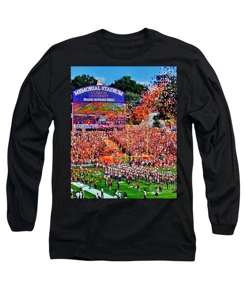 Clemson Tigers Memorial Stadium Long Sleeve T-Shirt