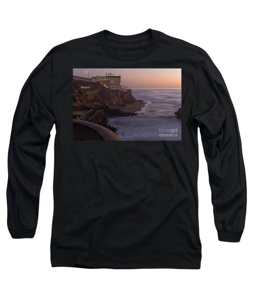 Long Sleeve T-Shirt featuring the photograph Cliff House Sunset by Kate Brown