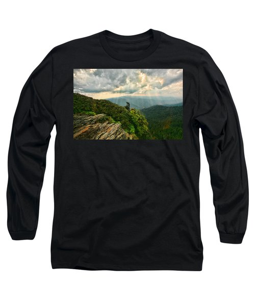 Cliff Tops At Mt. Leconte Gsmnp Long Sleeve T-Shirt