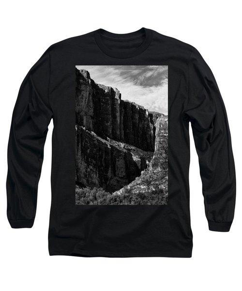 Cliffs In Contrast Long Sleeve T-Shirt