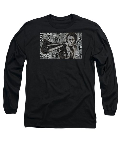 Clint Eastwood Dirty Harry Long Sleeve T-Shirt