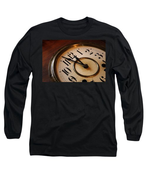 Clock Face Long Sleeve T-Shirt