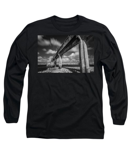 Clouds Above The Bridge Long Sleeve T-Shirt