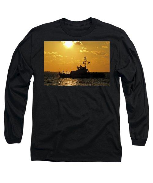 Coast Guard In Paradise - Key West Long Sleeve T-Shirt