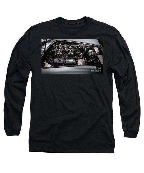 Long Sleeve T-Shirt featuring the photograph Cobra Engine by Matt Malloy
