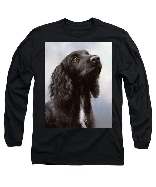 Cocker Spaniel Painting Long Sleeve T-Shirt