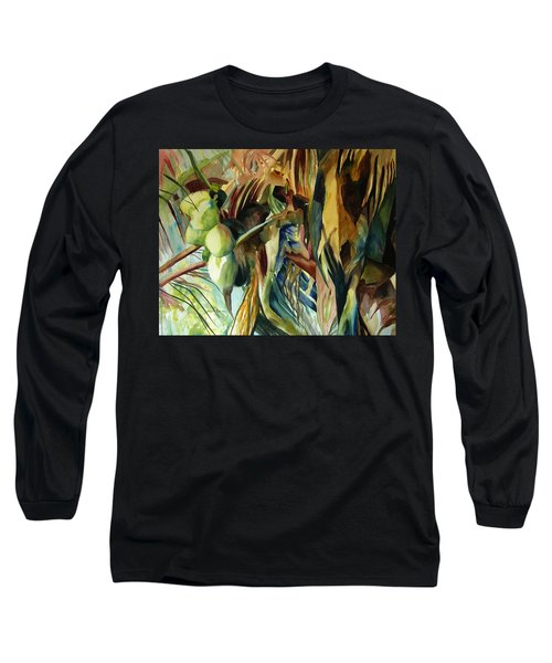 Coconuts And Palm Fronds 5-16-11 Julianne Felton Long Sleeve T-Shirt
