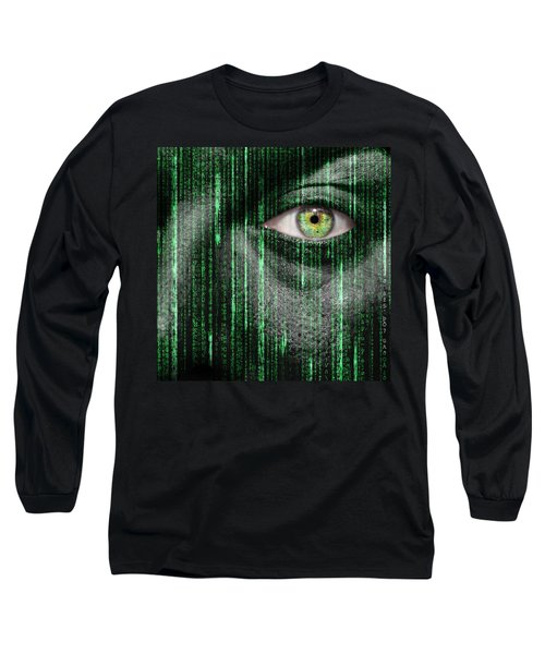 Code Breaker Long Sleeve T-Shirt by Semmick Photo