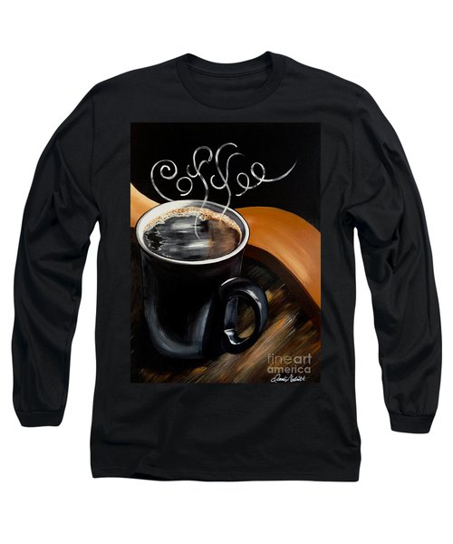 Coffee Break Long Sleeve T-Shirt by Dani Abbott