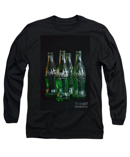Coke Bottles From The 1950s Long Sleeve T-Shirt