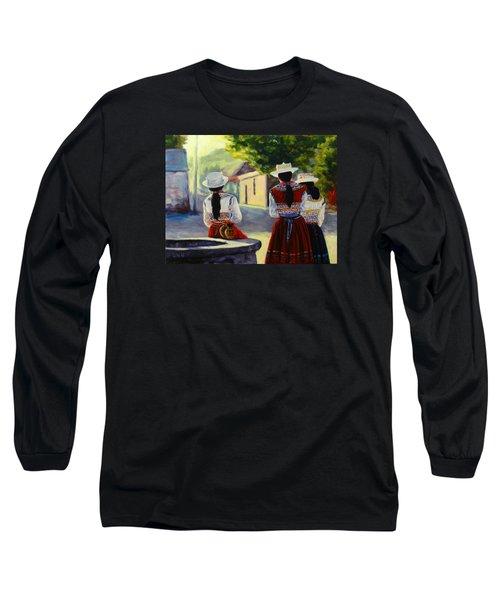 Colca Valley Ladies, Peru Impression Long Sleeve T-Shirt