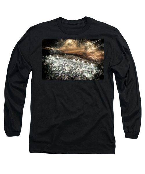Cold Mountain Long Sleeve T-Shirt by Tom Culver