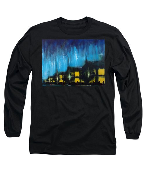 Cold Nights Warm Lights Long Sleeve T-Shirt